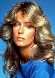 1980s feathered hair pictures farrah fawcett s feathered hairstyle last hair models hair