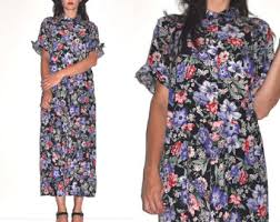 maxi shirt dress etsy