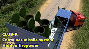 K He Modern Modern Tech U0026 Navy Club K Container Missile System Hidden