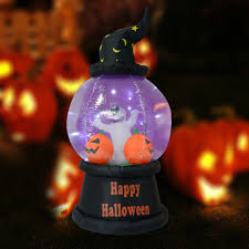 inflatable pumpkin halloween decoration light up out indoor