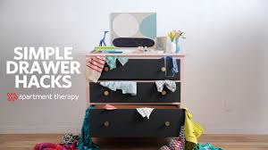 10 drawer hacks to organize your whole wardrobe apartment therapy