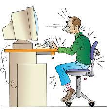 posture au bureau travail sur écran risques pour la santé risques inrs