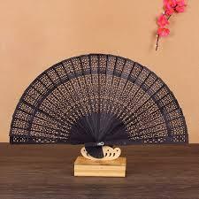 wooden fans japanese sandalwood folding fan fragrance wooden fans