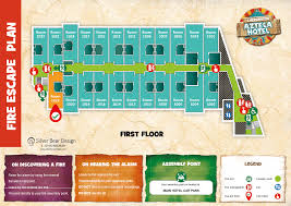 Fire Evacuation Floor Plan Chessington Zoo Hotel Evacuaton Plan Fire Evacuation Plans