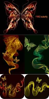 abstract butterfly backgrounds vector vector graphics