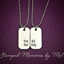 his and hers dog tags best sted dog tag products on wanelo
