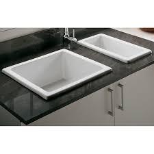 undermount ceramic kitchen sink cream porcelain undermount kitchen sinks with double black houzer