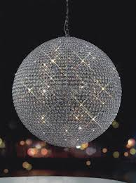 Sphere Chandelier With Crystals R Forever Large Chandelier 3 Sizes