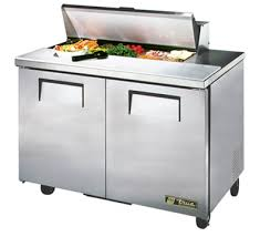 48 inch sandwich prep table used 48 inch 12 cu ft 2 door sandwich salad prep table with 10 1