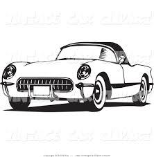 vintage corvette corvette clip art 54