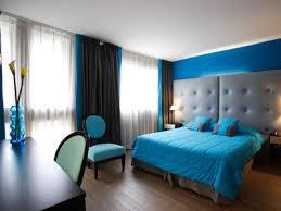 la chambre bleu chambre bleue et blanche wunderbar deco chambre bleu couleur de