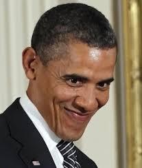 Obama Face Meme - obama smirk blank template imgflip
