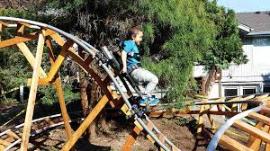 roller coaster for backyard 10 thrilling backyard roller coaster videos
