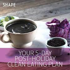 clean eating diet shape magazine