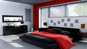 Living Room Wallpaper Scenery Apartments Scenic Black White And Red Living Rooms Room Design