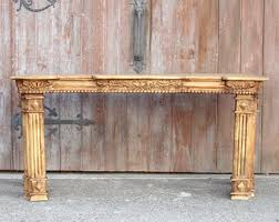 Wooden Console Table Console Table Etsy