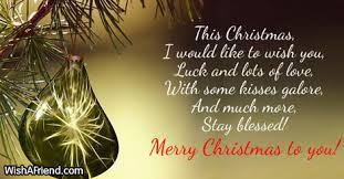 christmas christmas message