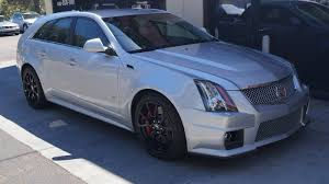 cadillac with corvette engine another cool wagon manual transmission cadillac cts v