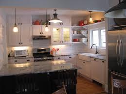 historic kitchen renovation white ikea cabinets open shelves
