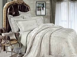 Bedding Sets Luxury Jacquard Luxury Bedding Set Illusory Myth Sets083