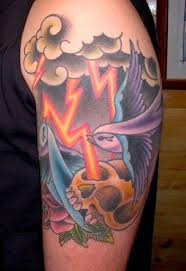 50 great cloud tattoos and ideas for and