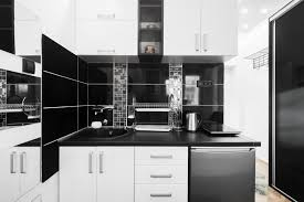 black and white kitchen cabinets designs 31 black kitchen ideas for the bold modern home