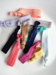 elastic hair ties elastic hair ties set 5pcs illusion boutique