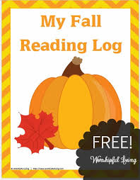 fall reading logs