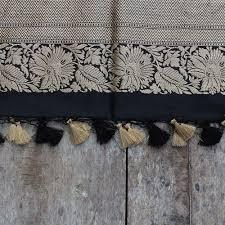 103 Best Ivory U0026 Gray by Black Pure Katan Silk Dupatta U0026 Beige Pure Silk Georgette Fabric