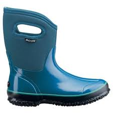 womens gumboots australia bogs mid handles womens insulated gumboots in blue