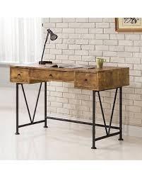 V Shaped Desk Bargains 23 Coaster Furniture Antique Nutmeg Writing Desk