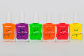 american apparel u0027s limited edition neon nail polishes