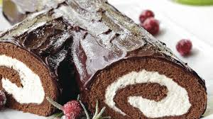 cuisine buche de noel bûche de noël with ganache recipe bettycrocker com