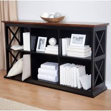 furniture home white wooden book cabinet with three open shelf