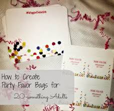 Favors For Adults by Always A Blogsmaid Diy Favor Bags For Adults