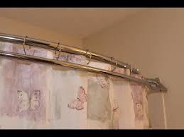 Curtain Rod Shower Shower Curtain Rod Shower Curtain Rod Brackets Home Depot