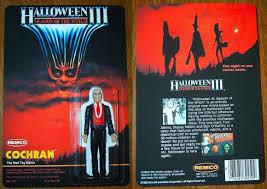 halloween iii cochran action figure moc