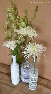 Wine Glass Flower Vase Boho Wine Bottle Vase Centerpiece Diy Mom Spark Mom Blogger