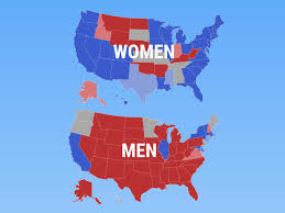 Blank Electoral Map by Animated Map Shows How Demographics Vote Business Insider