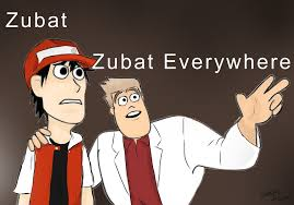 Zubat Meme - zubat everywhere meme by d elainedezso on deviantart