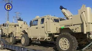 unarmored humvee us gives syrian kurds combat vehicles mortars anti tank weapons