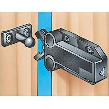 touch latch cabinet hardware sugatsune touch latch non magnetic brown cabinet and furniture