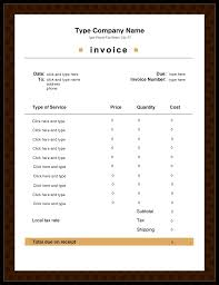 10 best images of word invoice receipt template editable free