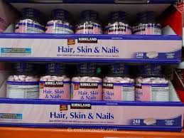 kirkland signature hair skin nails
