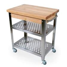 Cucina Rosato Butcher Block Table