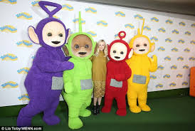 fearne cotton covers baby body teletubbies launch