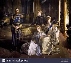 the royal family at buckingham palace 1913 english king george v