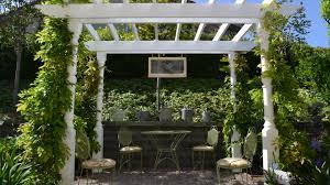 garden oasis pergola home outdoor decoration