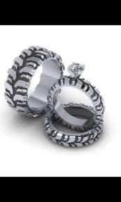 tire wedding ring mud tire tread wedding ring set stuff ring