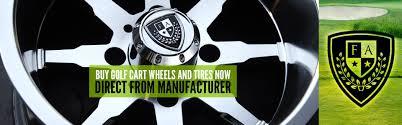 fairway alloys custom golf cart wheels u0026 tires manufacturer direct